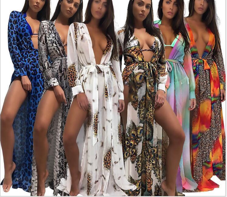 80d4f989f 2019 Women Sexy Swimdress Swimwear Cover Up 2018 Split Swimdress Ladies  Summer Swimsuit Beach Wear Bikinis Coverups Swim Clothing From Carmenleejm,  ...