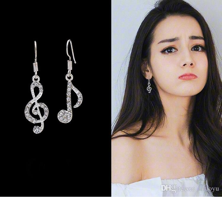 2717d05db 2019 Elegant LIXINTAI Brand Music Notation Model Earrings Made With Swarovski  Crystal Women Fine Jewelry Inlaid Austria Crystal Fashion Ear Studs From ...