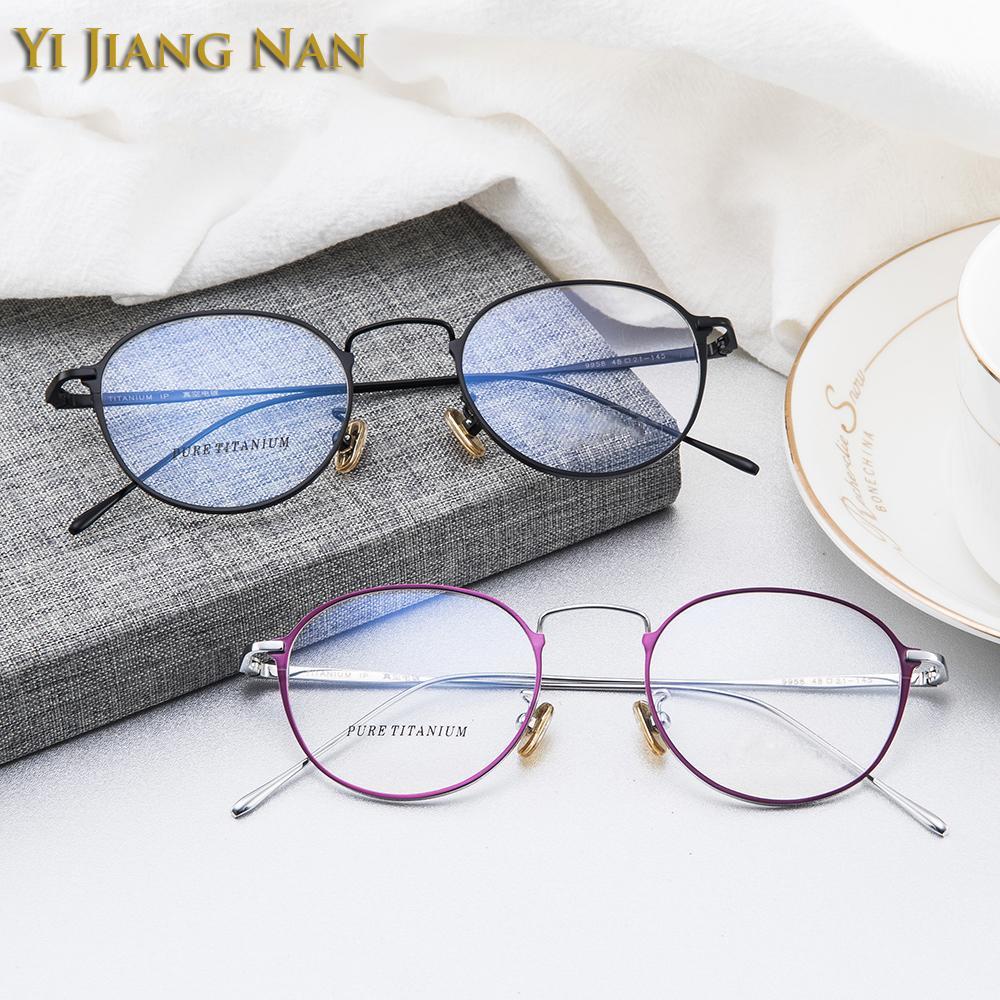 Prescription Cadre Jiang Petit Lunettes De Ronde Yi Femelle Tendance Nan Vue Vintage La Marque Mode L5jR4A