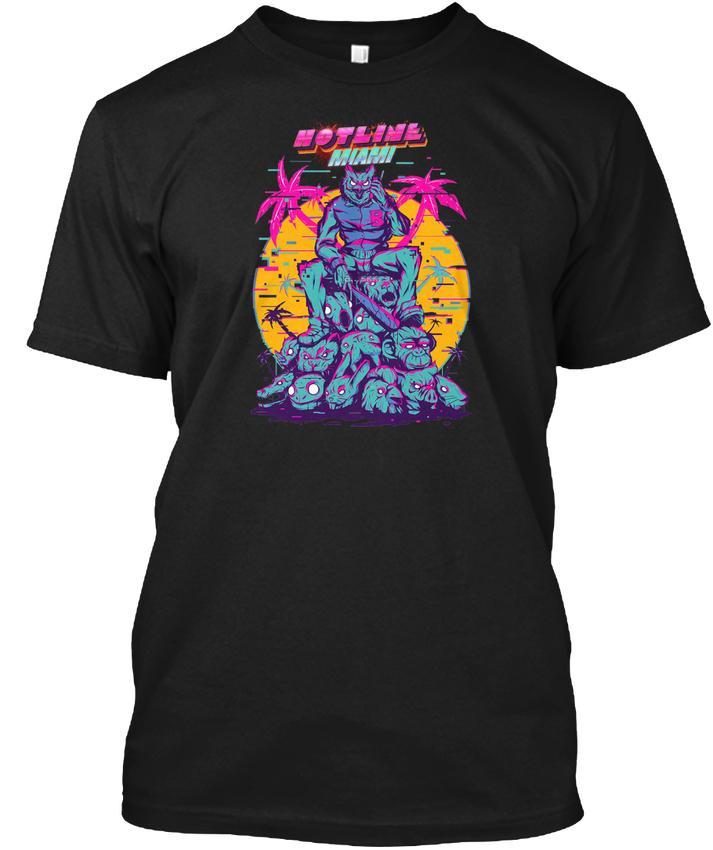 e3eb44af8 Hotline Miami Popular Tagless Tee T Shirt T Shirt With Design It T Shirt  Design From Bstdhgate, $11.01  DHgate.Com