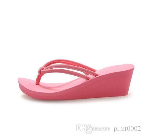 850441d36ac9 Pu Rubber Slip-on Casual Plain Fashion Sandals Shoes Beach Flat ...
