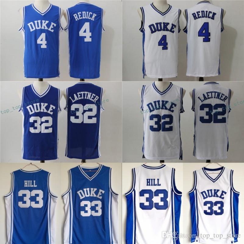 Duke Blue Devils College Jerseys 0 Jayson Tatum 4 JJ Redick 32 ... 84f8c50e3