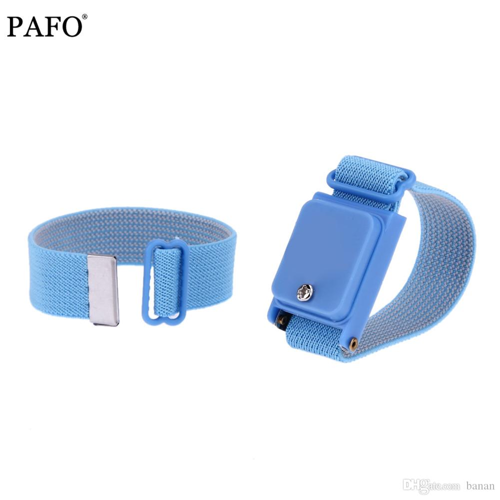 Sans Câble Fil Antistatique Esd Décharge Électrostatique Main Rechange Bracelet Réglable De Avec 0mON8nvwy