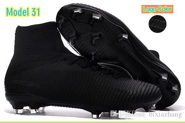 low priced 0702f 31b9f Acheter Meilleure Qualité Femmes Hommes Mercurial Superfly Cr7 V Fg  Football Chaussures Neymar Jr Acc Extérieur Football Chaussures Enfants  Cristiano ...