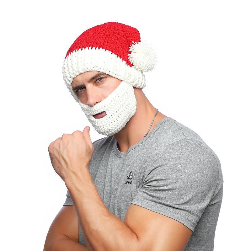 Großhandel 2018 Weihnachten Weihnachtsmann Hut Für Männer ...