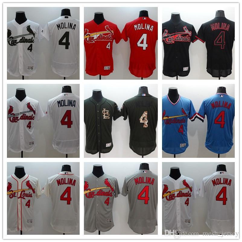 467af033c 2019 Custom Men Women And Youth Cardinals Baseball Jerseys #4 Yadier Molina Jerseys  Red, Black, White, Blue Baseball Jersey From Tenplus, $22.19   DHgate.