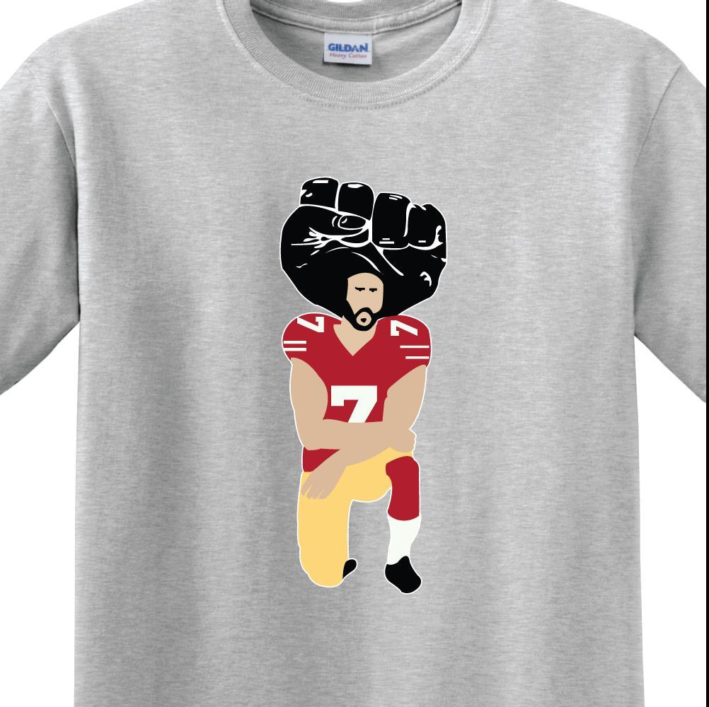 31569e7d85b I M With Kap MEN S T SHIRT Colin Kaepernick United We Stand BLM Funny  Unisex Casual Tshirt Gift Men T Shirts Geek T Shirts From Wildmarkstore