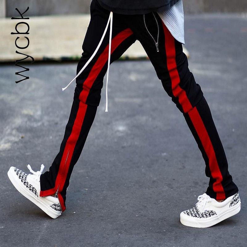 2ea12582308 2019 2017 New Fashion Elastic Waist Mens And Womens Track Pants Ankle Zip  Tapered Sweatpants For Men Zipper Pocket Trouser From Salom, $39.26 |  DHgate.Com