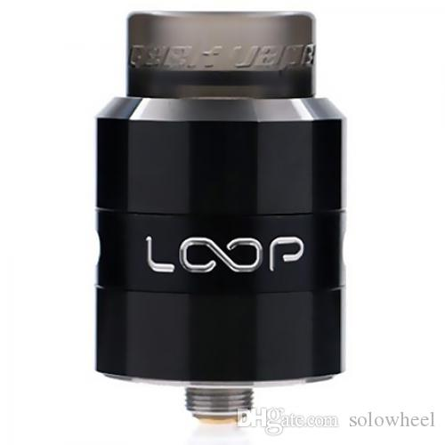 Geekvape LOOP RDA with W Shape Build Deck / BF Pin for E Cigarette Diameter 24mm rebuildable dripping atomizer