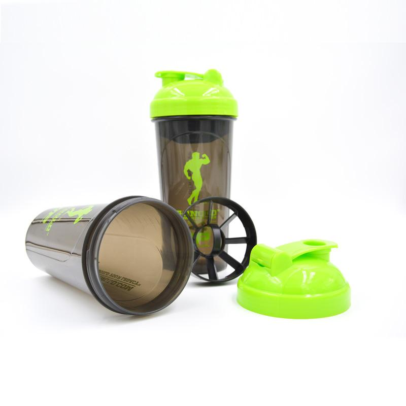 Original Simple Moments Fitness Protein Powder Shaker Bottle Sports Water Bottle 600ml