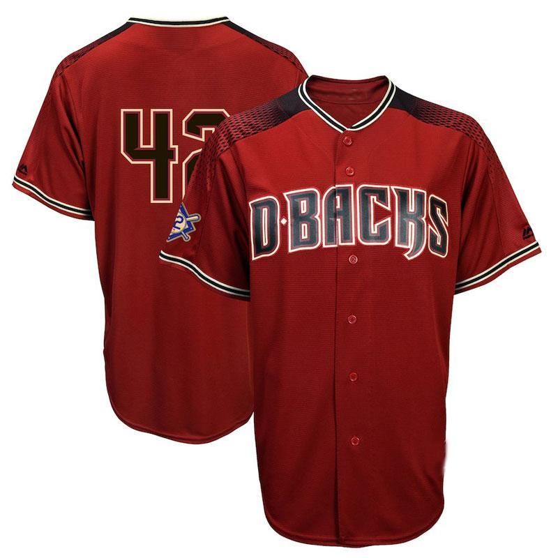 Mens Arizona Diamondbacks 42 Jackie Robinson Jersey Baseball Jersey Cheap  Baseball Jersey Jackie Robinson Online with  31.13 Piece on Liting4858 s  Store ... 8c62ad40965