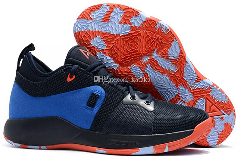 eaa960bc5aa 2018 High Quality Paul George PG2 Men S Basketball Shoes Sneakers PlayStation  PG 2 Sports Outdoor Shoes Size Eur40 46 Canada 2019 From Kataka