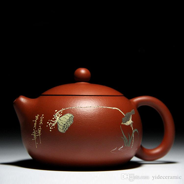 Chinese Handmade Pure Cay Yixing Zisha Teapot any gift For Parents Or Friends Of Ceramic Yi Xing Tea Set