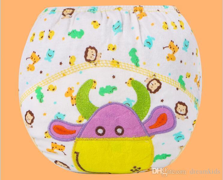 Kinder Cartoon Töpfchen Dicht Windeln Trainingshose Baumwolle Höschen 80 90 100 Cm Briefs Neugeborenen Unterwäsche Für Jungen