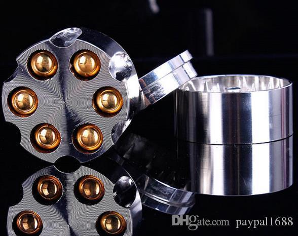Nuovo tipo grinder sigaretta smerigliatrici metallo smerigliatrice in metallo a tre strati smerigliatrice in lega di zinco
