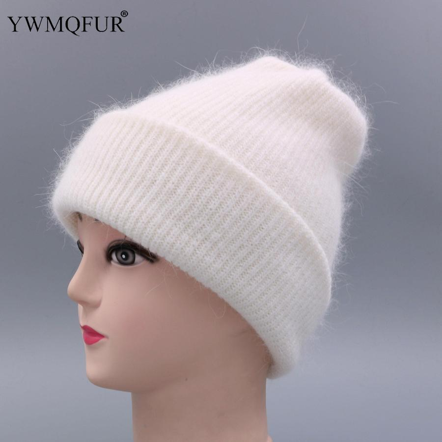 YWMQFUR Women hat for autumn winter knitted wool beanies fashion hats 2018 new arrival casual caps good quality female hat H70 Y18110503