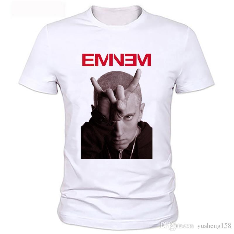 d1c4fe0eb0a New Summer Famous Hip Hop Tee Eminem T Shirt Men Plus Size Clothing ...