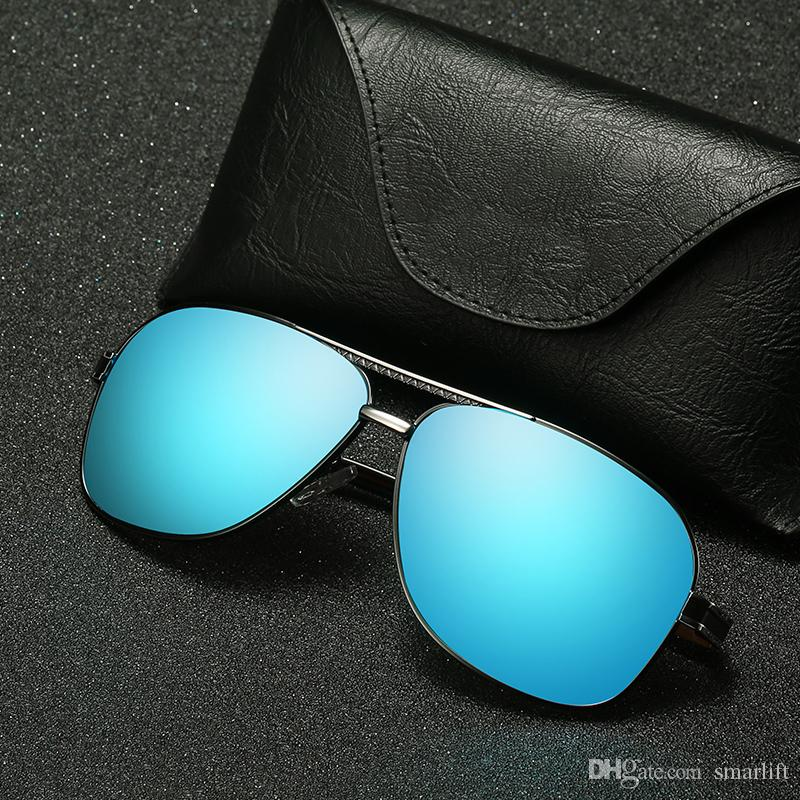 666df69d42 2018 Driver Polarizing Sunglasses Round Metal Square Frame Glass UV400  Style High Quality European Fashion SPORTS Model Cheap Eyeglasses Online  Sunglasses ...