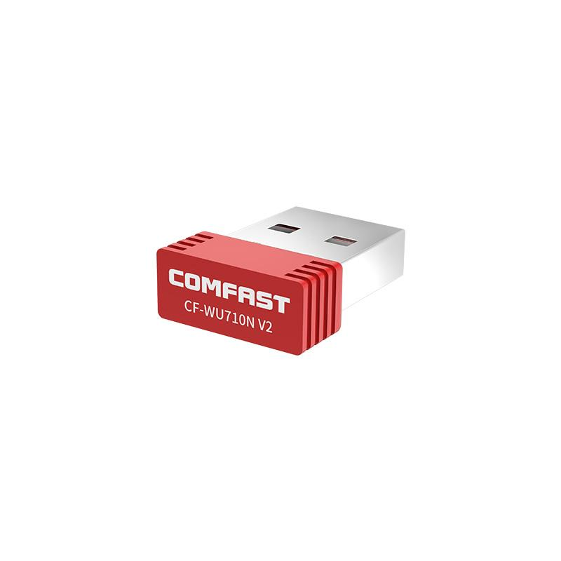 comfast mini usb wireless wifi adapter 150mbps wi-fi receiver 802.11n usb ethernet adapter network card Support Windows for PC