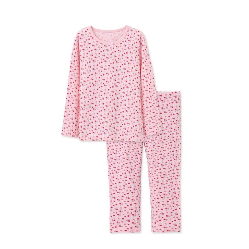 d11b11c1f Children Clothing Set Pajamas Sets Baby Girls T Shirt Pants Kit Suit ...
