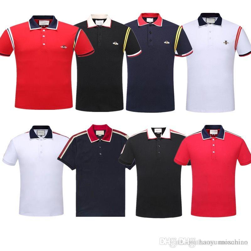 1bacd832 Wholesale New Luxury Designer Brand Embroidery T Shirts For Men ...