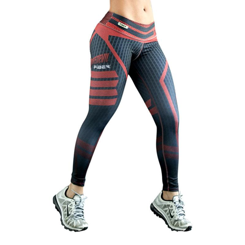 84340d64784 Ropa Mujer Sexy Push Up Leggings Women Printed Plus Size Sporting ...