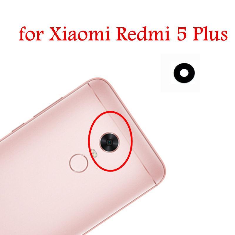 2pcs for Xiaomi Redmi 5 Plus Back Camera Glass Lens Rear Camera Glass with  3M Glue Redmi 5Plus Replacement Repair Spare Part