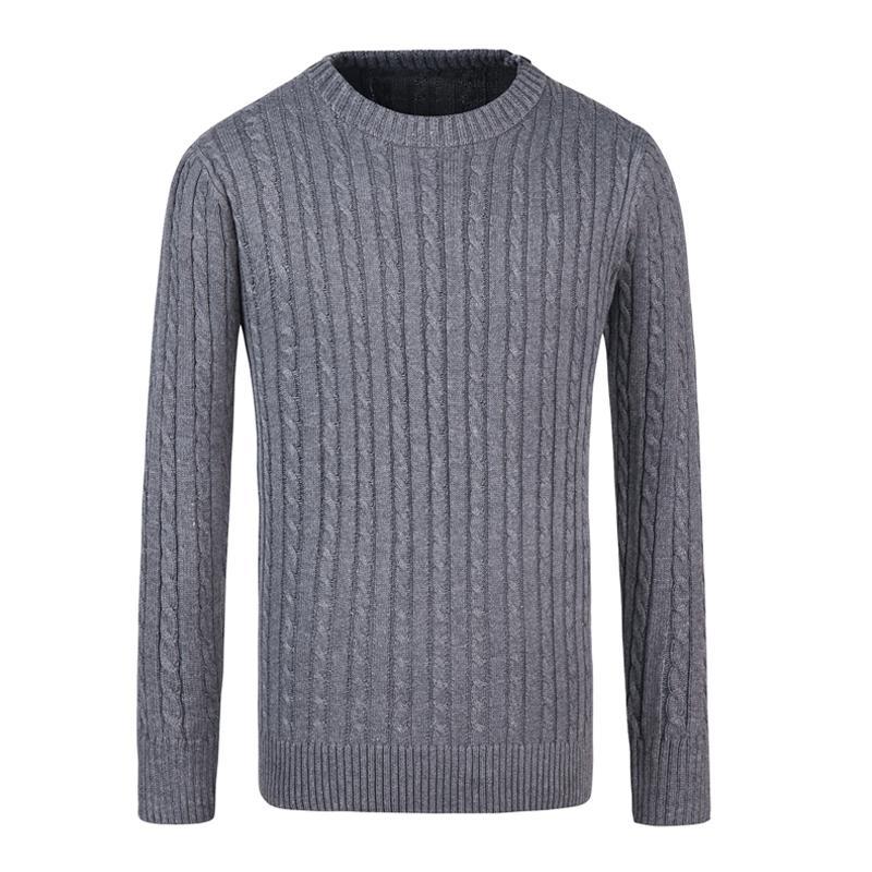 innovative design 5347d 4141e 2018 Winter Herrenmode Pullover Solide Grundlegende Pullover Männer Marke  Warme Pullover Männliche Oberbekleidung Jumper Gestrickte O neck Pullover