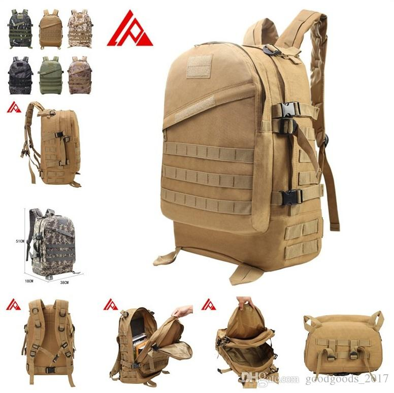 332489ef7798 3D Outdoor Sport Tactical Climbing Mountaineering Backpack Camping ...
