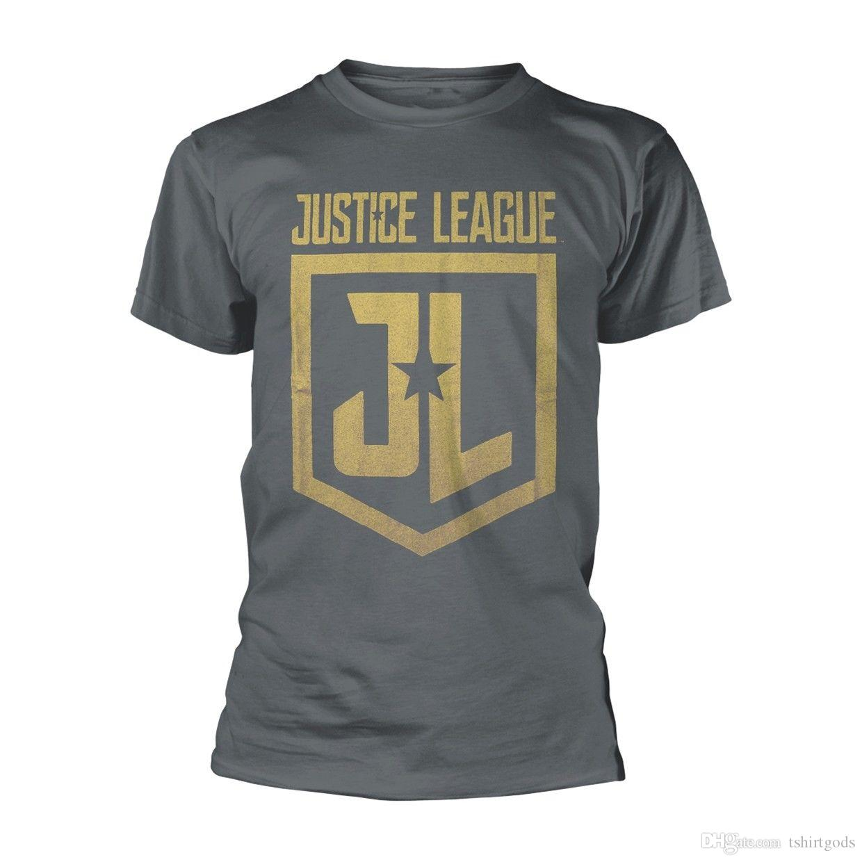 07489115f Compre Camiseta Escudo Clásico De DC Comics Justice League NUEVO A  10.44  Del Shirtszone