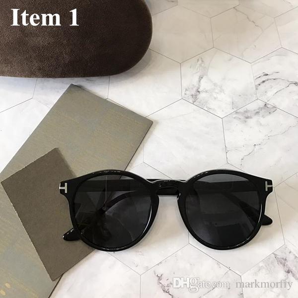 6fe0f111323 Men Women Classic Retro Polarized Sunglasses Lighter Design Round ...