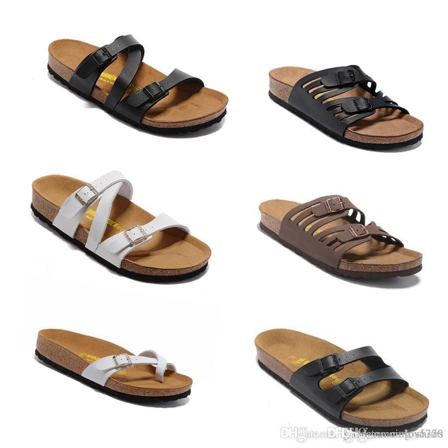 ec906d59f5dd Arizona Hot Summer Men S And Women S Slippers With Flat Shoes