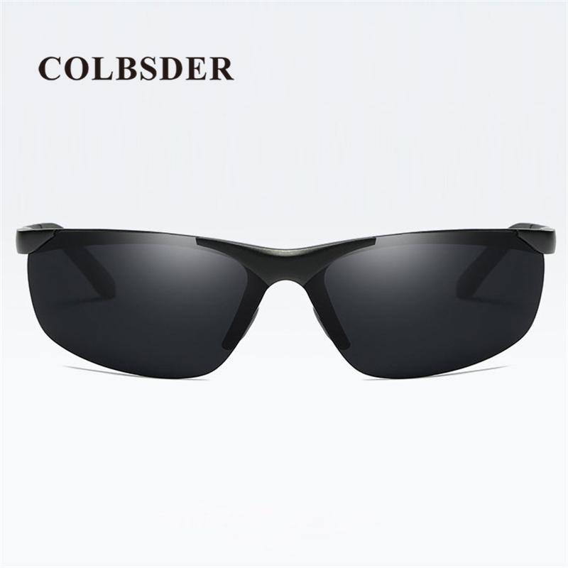 Compre Atacado Moda Homens Óculos De Sol De Alumínio Magnésio Quadro  Masculino Óculos Polarizados 2018 New Arrival Passeio Óculos De Alta  Qualidade Estilo ... 067d5337e3