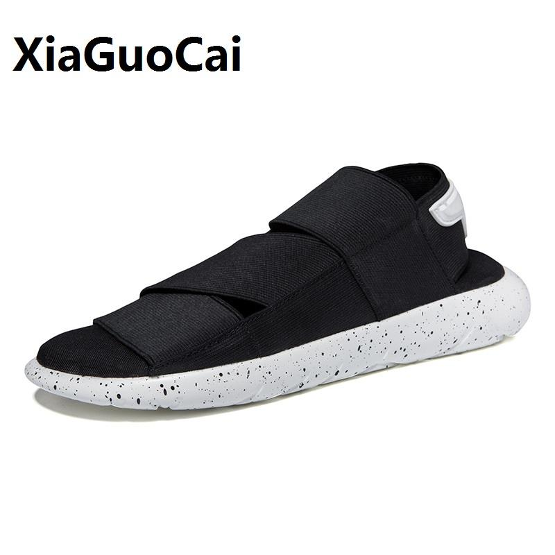 5db7eff73f1def 2017 Hot Sale New Arrival Beach Sandals Outdoor Men Slippers Open Peep Toe Men  Shoes Top Quality Fabric Soft Comfortable YC525 Wedding Shoes Wedges From  ...