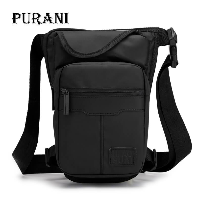 ec7ed3a7c74b Men Messenger Bags Sling Saddle Oxford Leg Bag Chest Pack Casual Travel  Male Small Shoulder Bag Crossbody Daypack Multi Pocket Vintage Handbags  Black Purses ...