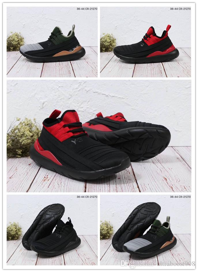 2018 New Style QASA RACER Hight Sneakers Breathable Casual Shoes Couples Outdoor Trainers Size Eur36-44 classic online 6PavUacQ8H