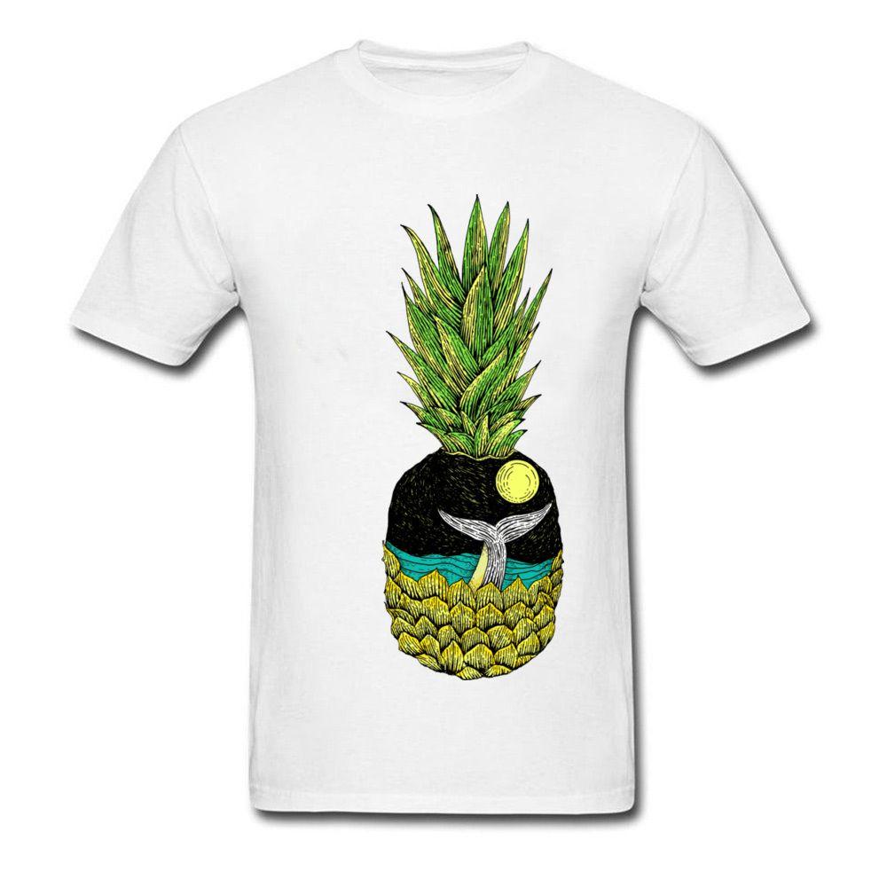 Satın Al Montaj Boyama T Gömlek Balina Kuyruk Ve Ananas 2018