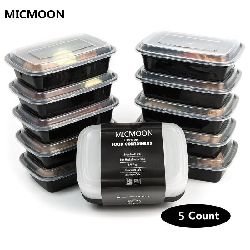 2018 1 Compartment Plastic Storage Containers With LidKitchen
