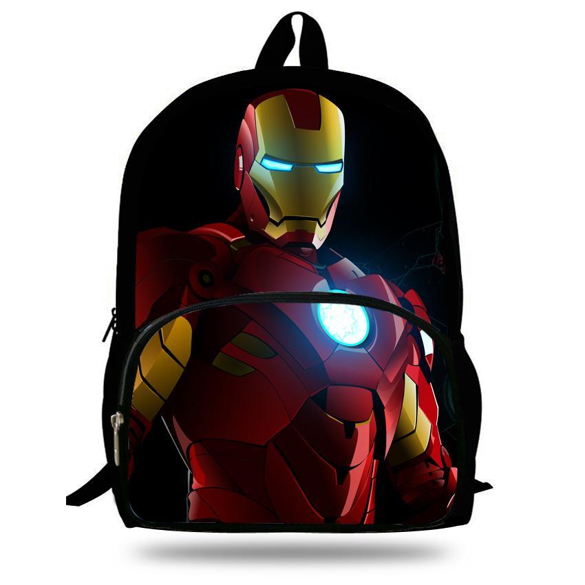 Großhandel 16 Zoll Kind Schule Rucksack Iron Man Für Kind Alter 7 13 ...