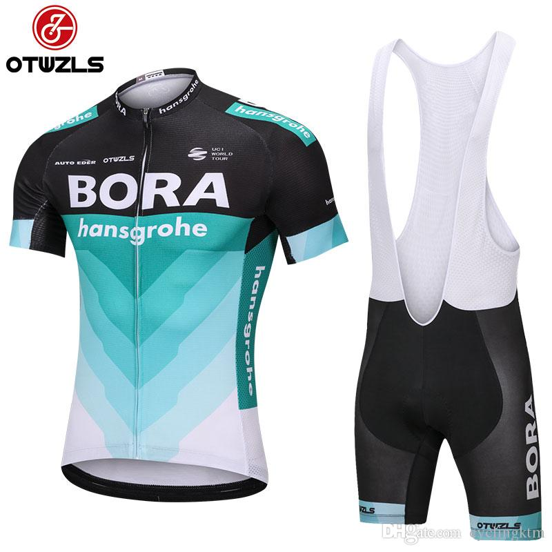 fc9aa1d1b BORA 2018 Mens Cycling Jersey Sets Pro Team MTB Coolmax Cycling Pads Racing Bicycle  Clothing Breathable Bike Jerseys Maillot Ropa Ciclismo Padded Bike ...