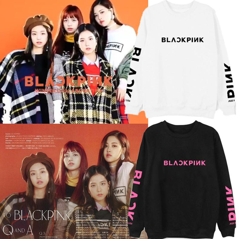 Compre XUANSHOW 2018 BLACKPINK Álbum Kpop Sudadera Hip Hop Cartas  Informales Sudaderas Con Capucha Ropa Pullover Camisetas Manga Larga Impresa  A  5.91 Del ... 77bd5b54072