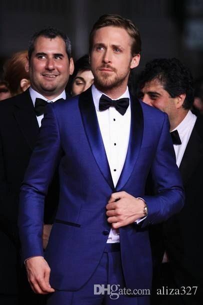 88f0af6b0 Customized New Fashion Slim Men s Dress Double Buckle Lapel Suit ...