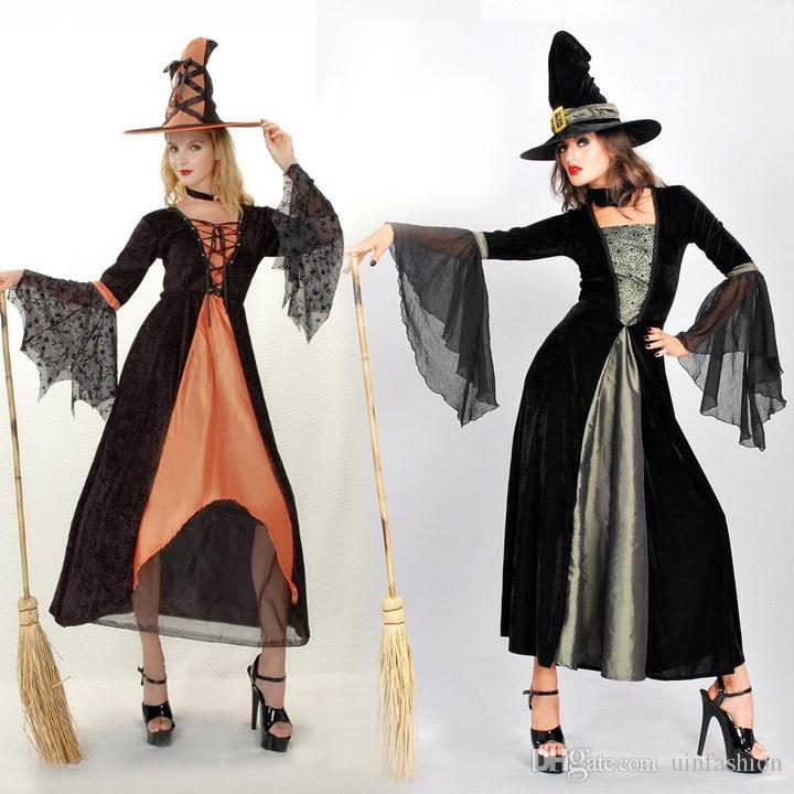 75e8f6a487ca Magic Moment Costume Evil Witch Women Sexy Halloween Party Dress Fancy  Cosplay Carnival Costume Sexy Dresses Halloween Costume For Four 5 Person  Group ...