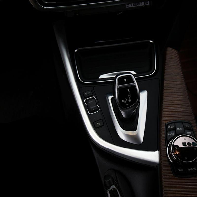 Автомобиль внутренняя центральная консоль переключения передач панель декоративные полосы крышка отделка наклейки авто аксессуары для BMW 3 4 серии 3GT F30 F31 F32 F34 F36