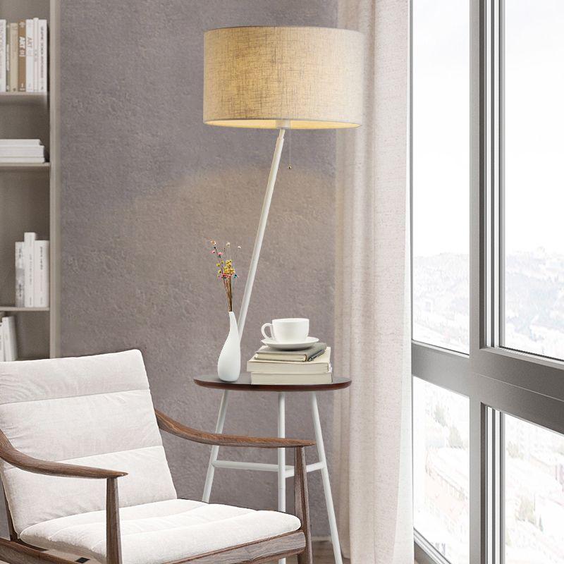 Großhandel Holz Stehlampe Moderne Wohnzimmer Schlafzimmer Studie