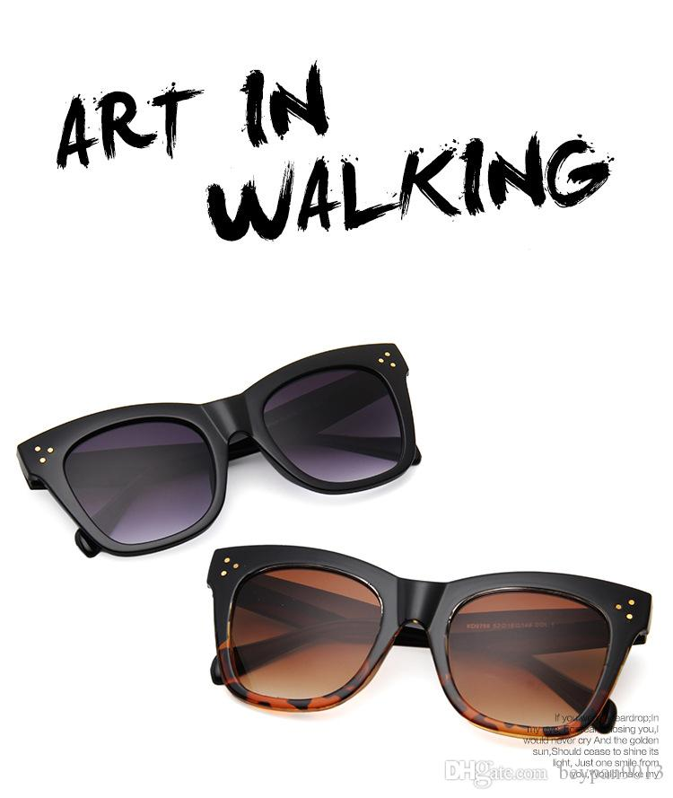 ae07f1ba194 2019 Luxury Women Brand Designer Leopard Print Cat Eyes Summer Style Oversize  Frame Top Quality Sunglasses Coating Lens Fashion Summer Style From  Beypan9013 ...