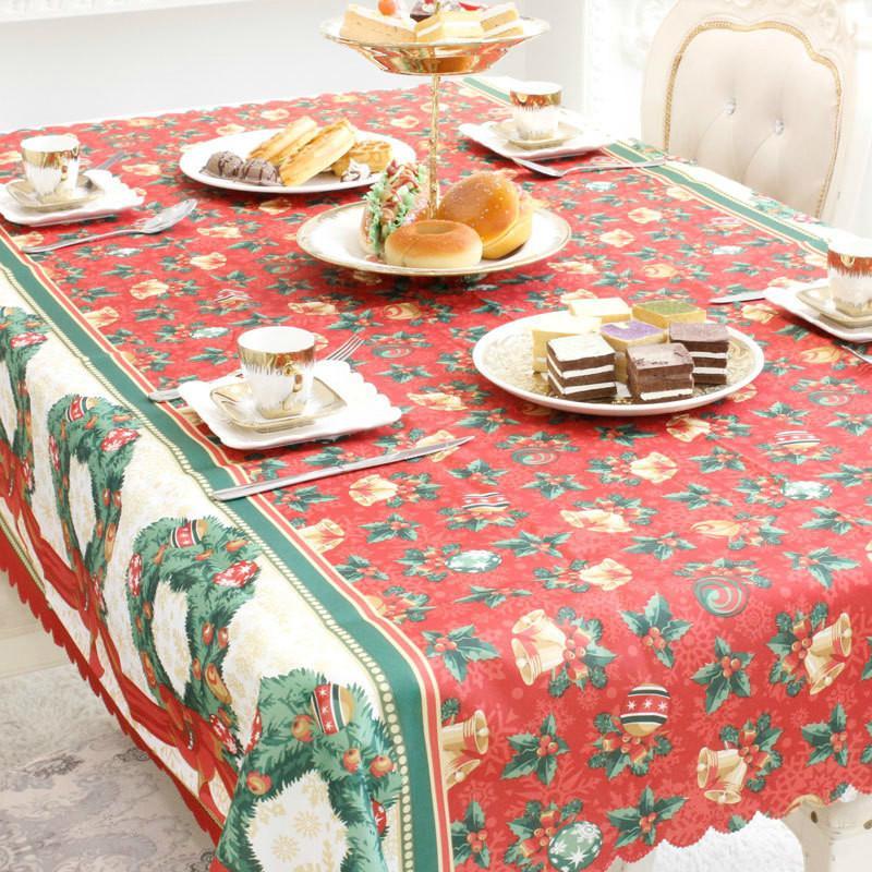 Acquista 150 Cm 180 Cm Di Natale Tovaglia Da Cucina Tavolo Da