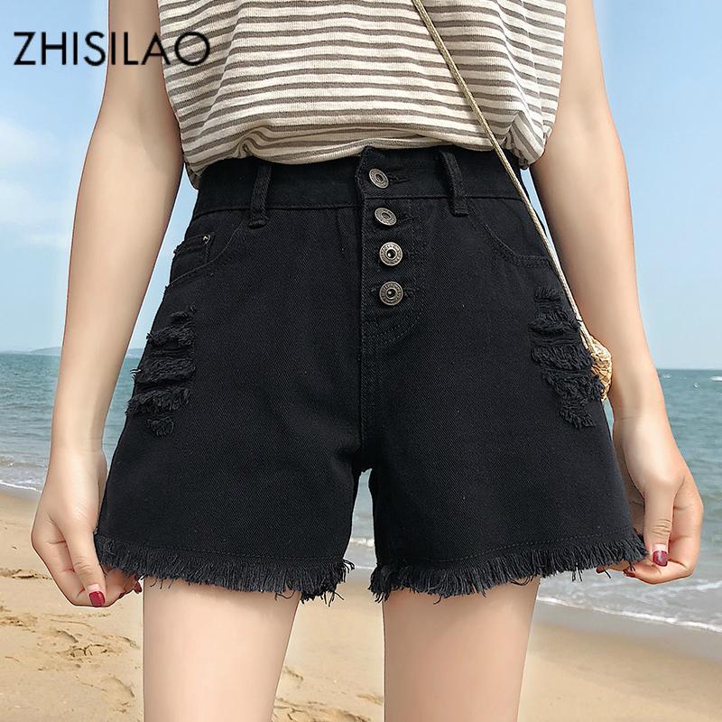 ff9ca1b593 Compre ZHISILAO 2018 Pantalones Cortos Para Mujer De Moda De Verano  Vestidos Con Pantalones Cortos, Mini Pantalones Cortos Para Mujer  Pantalones Cortos De ...