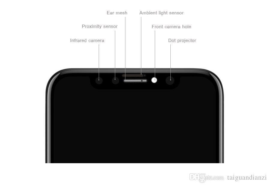 Dokunmatik Ekran Sayısallaştırıcı DHL Ücretsiz Kargo ile YENİ Süper AMOLED LCD Değiştirme 5.8 '' Elma GX iPhone X LCD Ekran