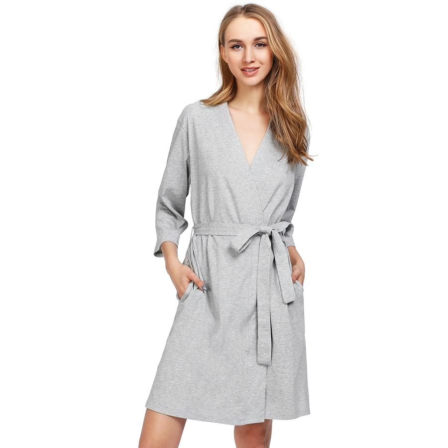 100% Cotton Robe Women S Sleep Lounge Hot Bridesmaid Bath Robes 3 4 Sleeve  Bandage Lady Nightdress Sleepwear Underwear Nighties UK 2019 From  Tutucloth 6f1de5cd6dba